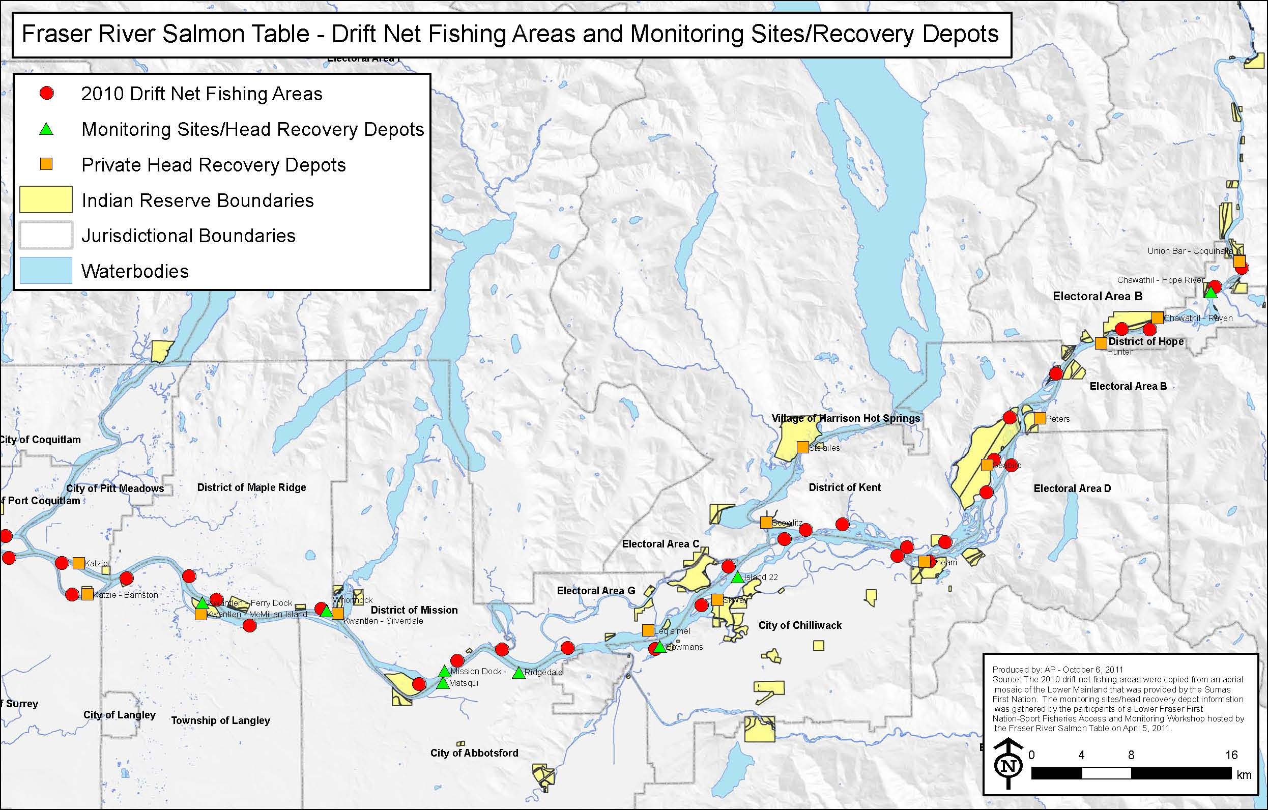 Maps  Fraser River Peacemakers